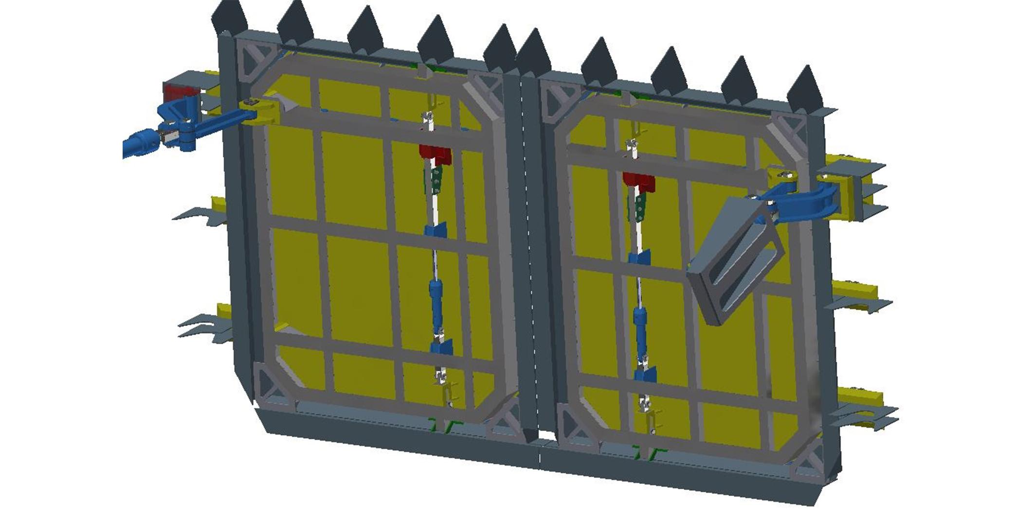AUV Hangar doors